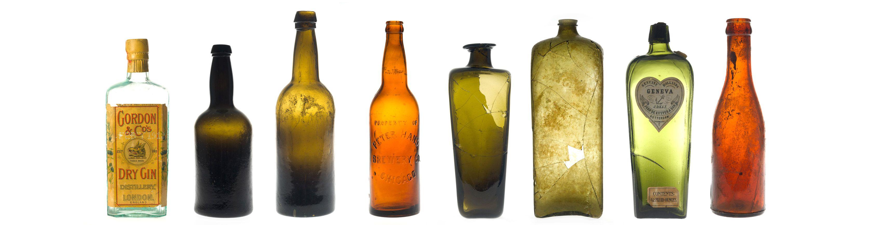 Bouteilles à bière et spiritueux